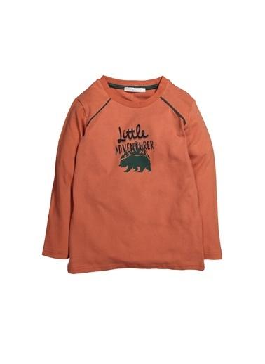 Zeyland Baskılı Omuz Biyeli Sweatshirt (5-12yaş) Baskılı Omuz Biyeli Sweatshirt (5-12yaş) Oranj